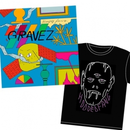 Hooded Fang - Gravez CD and T-shirt Bundle