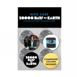 20,000 Days On Earth Badge Set