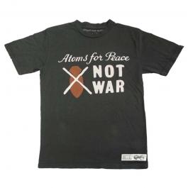 NOT WAR MENS BLACK T-SHIRT