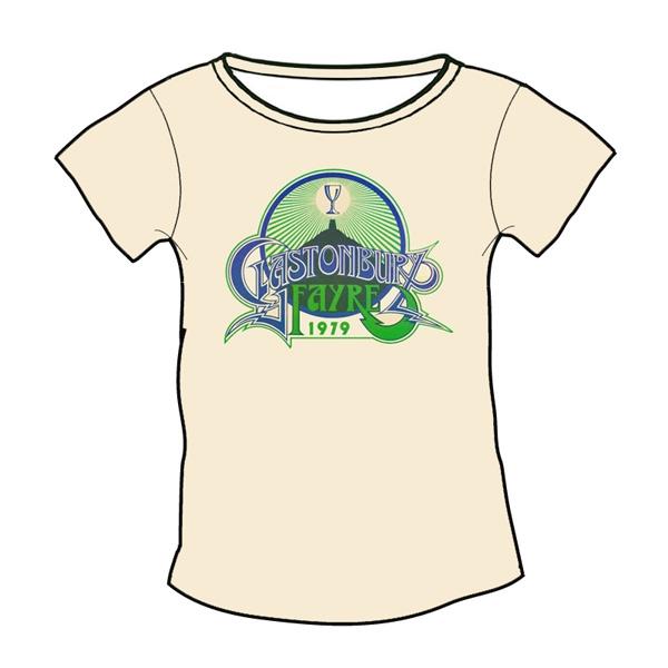 1979 Glastonbury Poster T-shirt (Womens)