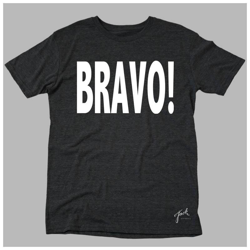 MELANGE BLACK BRAVO T-SHIRT