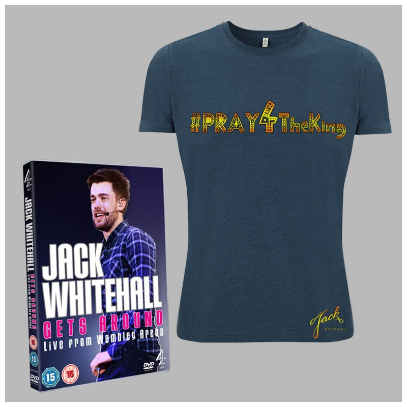 JACK GETS AROUND DVD & #PRAY FOR THE KING TEE BUNDLE