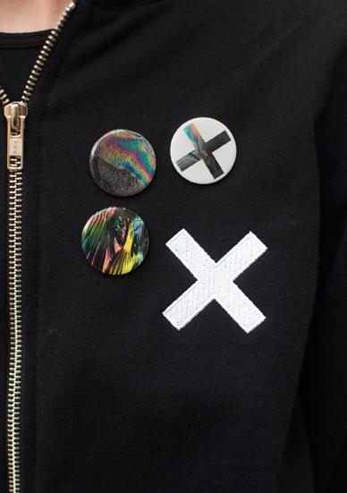 THE XX BADGE SET
