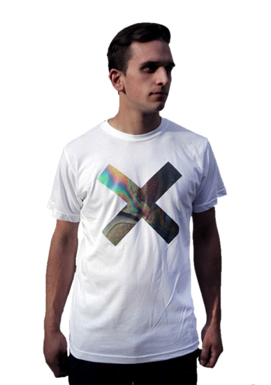 COEXIST WHITE T-SHIRT
