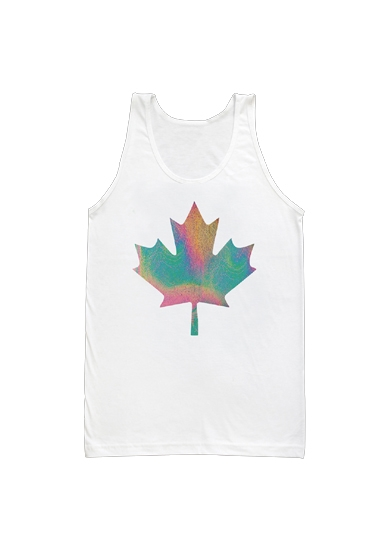 COEXIST MAPLE LEAF TANK TOP