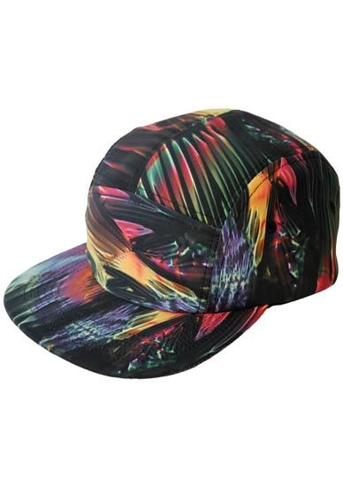 REUNION 5 PANEL SNAPBACK HAT