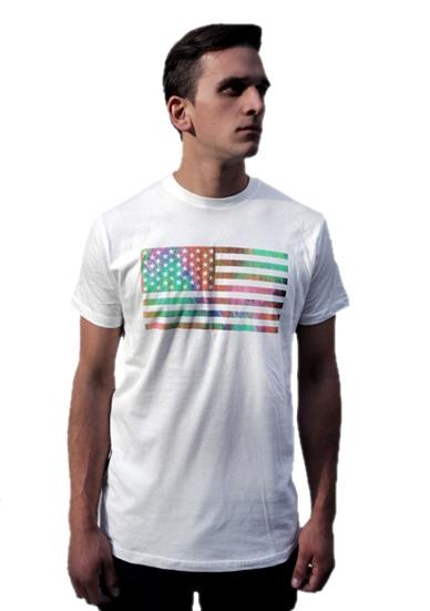 USA FLAG 2013 TOUR TEE