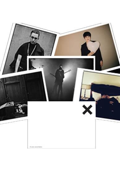THE XX POST CARD SET