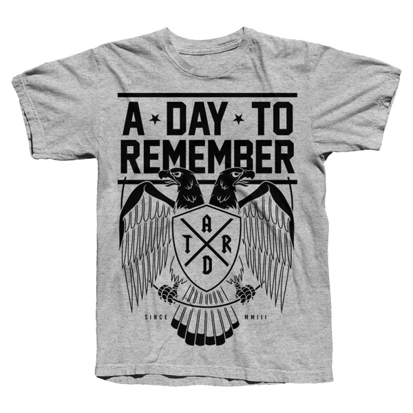 CULT EAGLE Grey Tee - ONLINE EXCLUSIVE