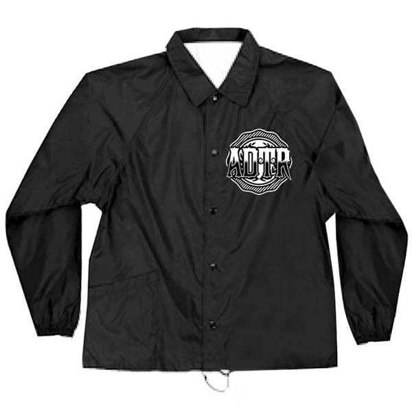 Black Torch Windbreaker Jacket