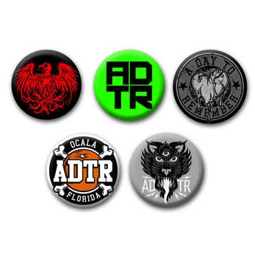 5 Piece Badge Set