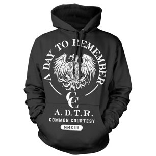 Graphite Common Courtesy Hoodie