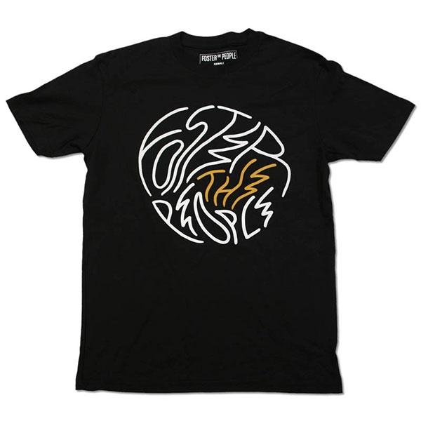 Circle Logo Summer 2014 Tour Date T-Shirt
