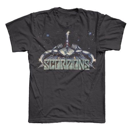 Charcoal Futuristic T-Shirt