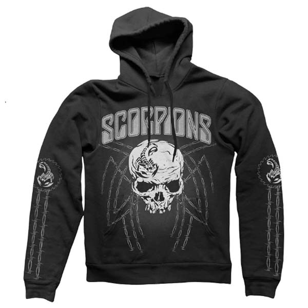 Black Barbed Wire Hoody