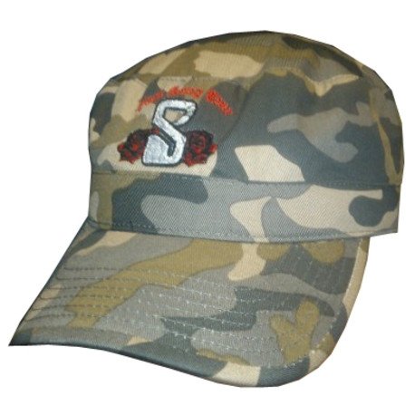 Camouflage Embroidered Baseball Cap
