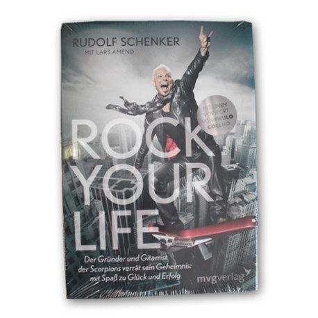 Rock Your Life Book By Rudolph Schenker (German)
