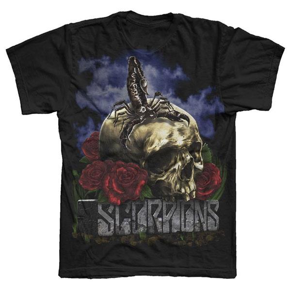 Black Skull Tour T-Shirt