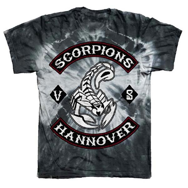 Charcoal Hannover Tie Dye T-Shirt