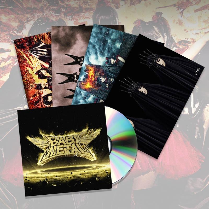 METAL RESISTANCE CD & ART CARD SET