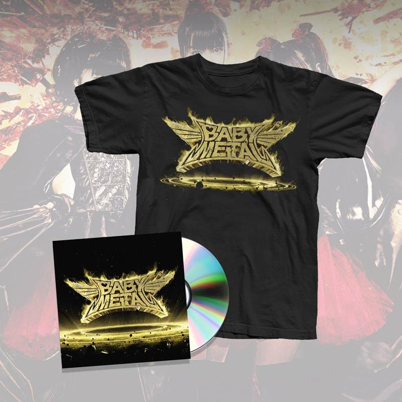 METAL RESISTANCE CD & ALBUM TEE