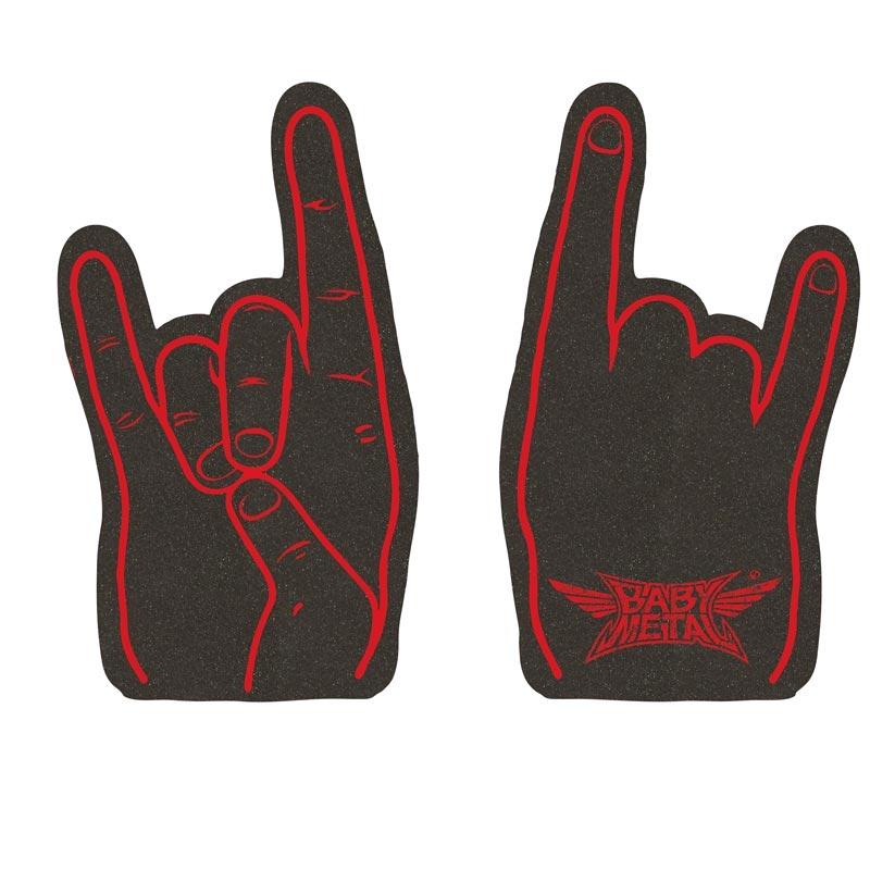 ROCK SIGN FOAM HAND