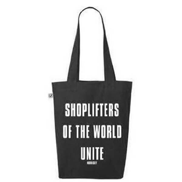 Shoplifters Black Tote Bag