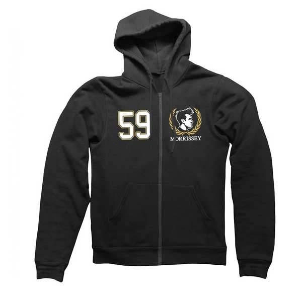 Black 59 Crest Zip Hood