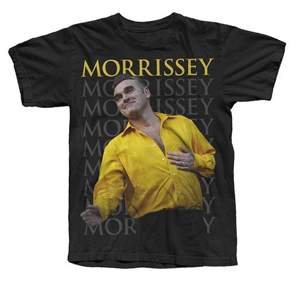 BLACK MORRISSEY 'YELLOW SHIRT' T-SHIRT