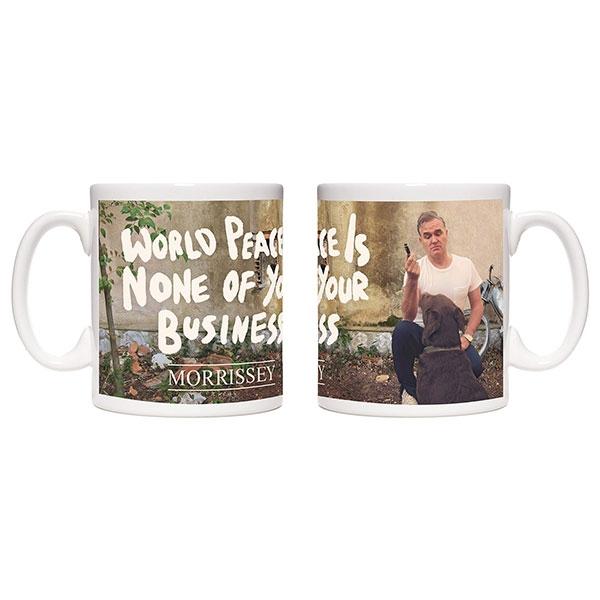 White World Peace Mug