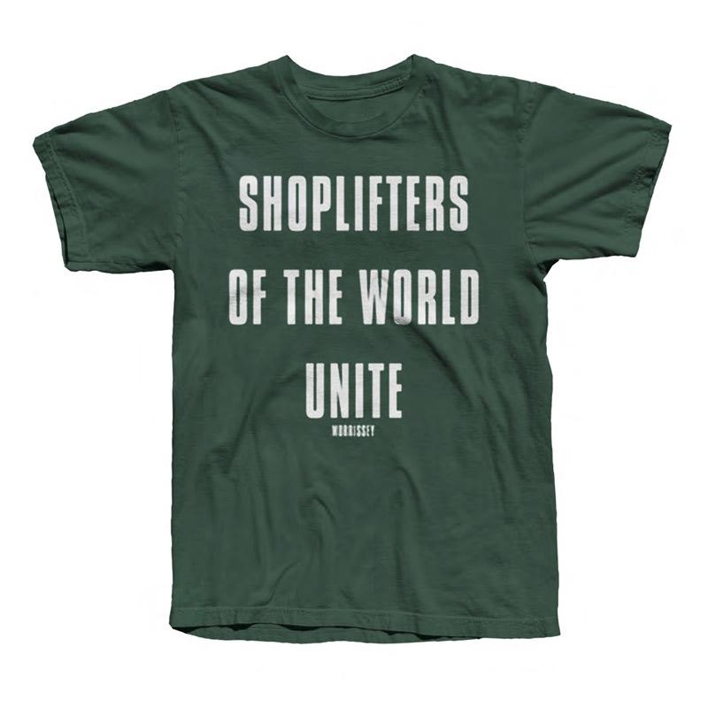 Shoplifters Tee Green
