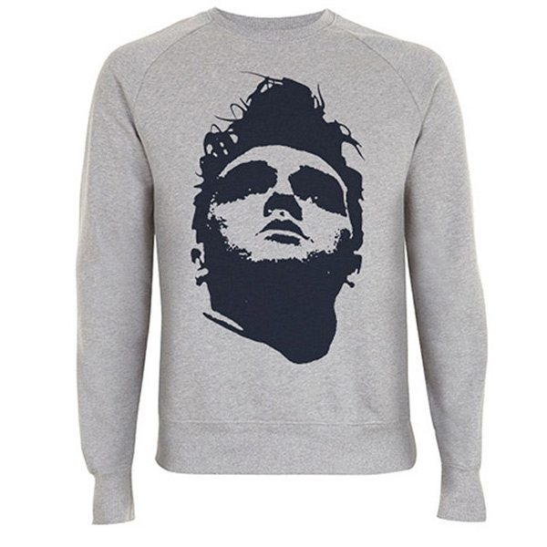 Face Sweatshirt Grey