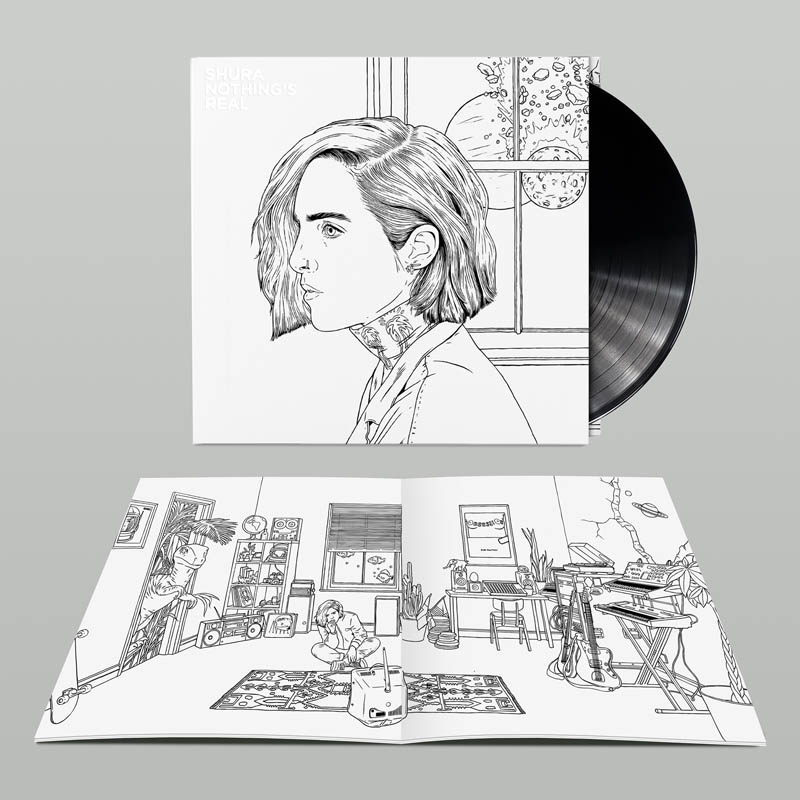 NOTHING'S REAL - Exclusive Double Vinyl with Colouring Book
