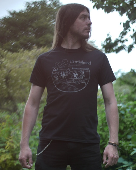 Black Seaside T-Shirt