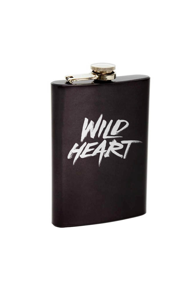 WILDHEART GRAPHITE FLASK