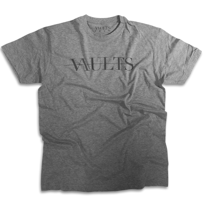 Mens Grey Logo T-Shirt