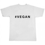 White Vegan Tee