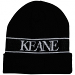 Keane Knitted Beanie (Black) One Size