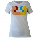 LADIES HEADS T-SHIRT (WHITE)