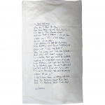 Keane A Bad Dream White Pillowcase