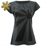 Sun Rays Logo T-Shirt (Charcoal) Ladies